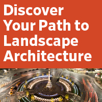 Your Path to Landscape Architecture ad
